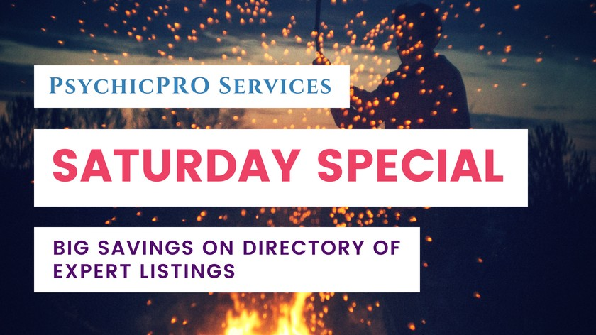 Saturday Special: Big Savings on Listings in the Directory of Experts