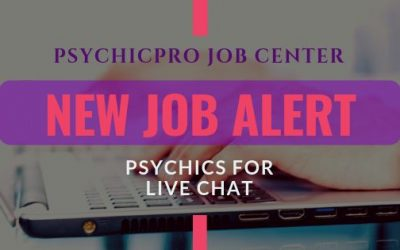 New Job Alert: Live Chat Psychics
